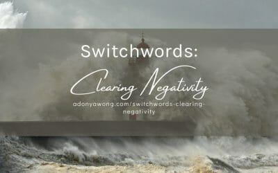 Switchwords: Clearing Negativity