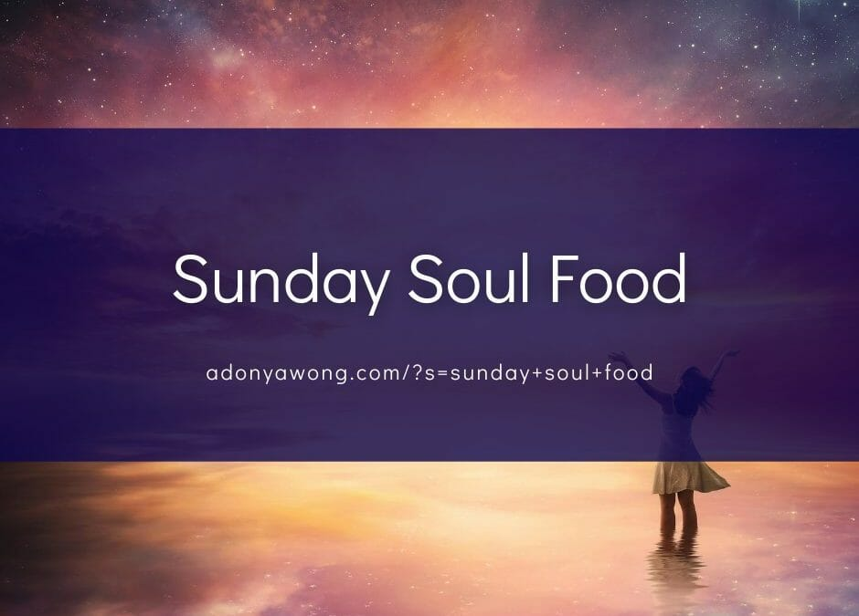 "[Sunday Soul Food] ""The Concluding Months"""