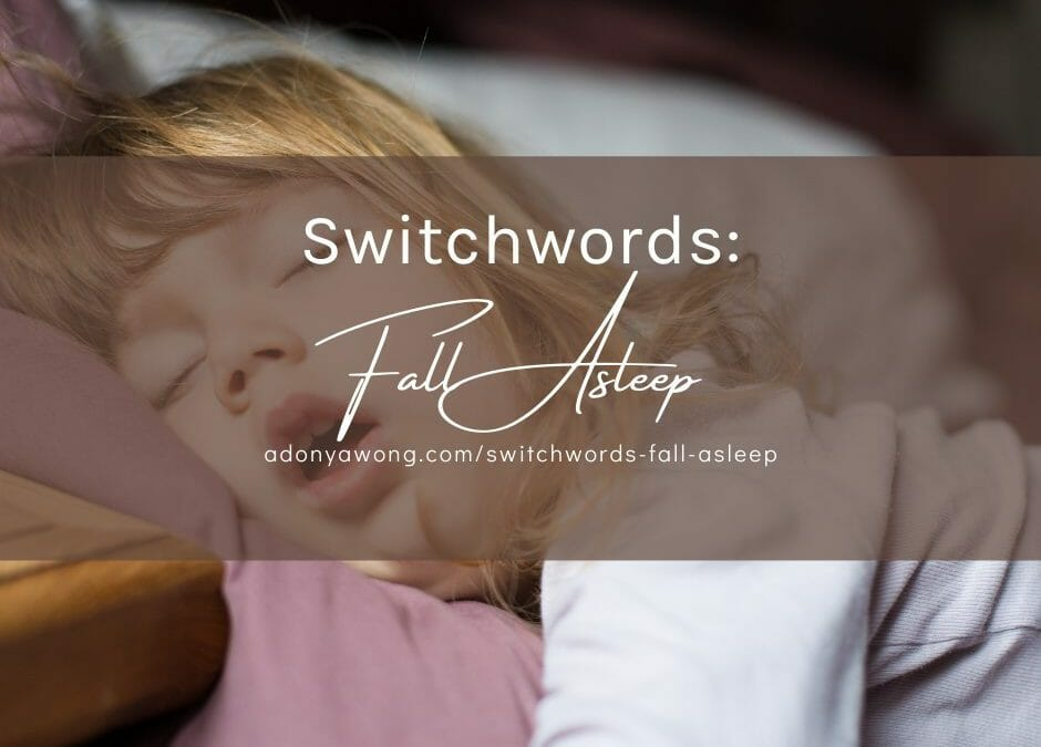 Switchwords: Fall Asleep In Less than 5 Minutes