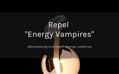 "[How-To] Repel ""Energy Vampires"""