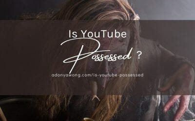 Is YouTube possessed?